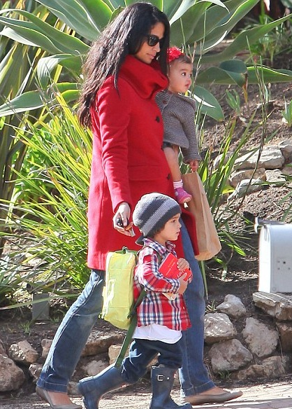 Camilla Alves With Her Adorable Children