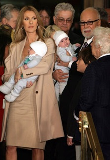 Celine Dion Reveals Her New Twins In Las Vegas