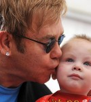Elton John Wants Son To Have A Normal Old-Fashioned Childhood