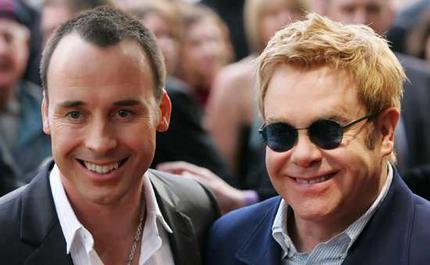 Elton John Becomes 'Gibbering Wreck' Around Baby Zachary
