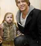 Larry Birkhead & daughter Dannielynn at A Pre-Oscar Gifting Suite in LA