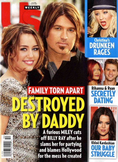 "Billy Ray Cyrus is trying to do right by his loved ones after saying that fame ""destroyed my family"" and that he was ""scared"" for daughter Miley."