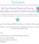 Celeb Baby Laundry Vacation
