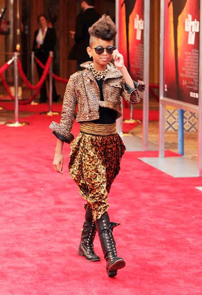 Willow Smith 'Targets' A Unique Fashion Statement