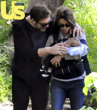 First Look: Penelope Cruz & Javier Bardem's Son!