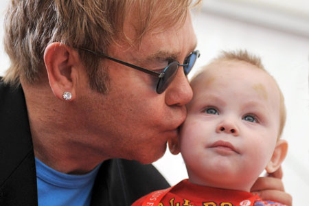 Elton John's Son Will Have DNA Test To Prove Who Is The Father