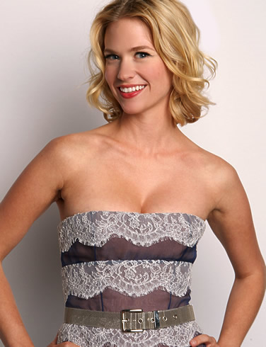 January Jones Pregnant But No Father Named