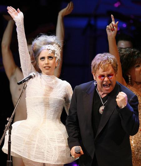 Confirmed: Lady GaGa Is Elton John's Son's Godmother