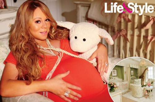 Mariah Carey Twin's Nursery