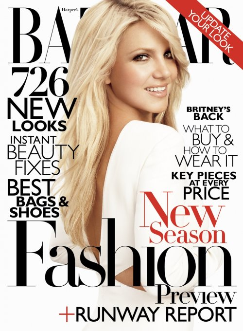 Britney Spears Opens Up to Harper's Bazaar About Motherhood