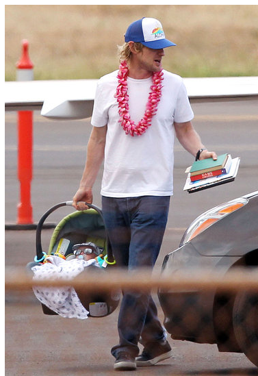 Owen Wilson Talks Fatherhood