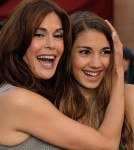 Teri Hatcher & Her Mini-Me Daughter Emmerson Head To A Premiere