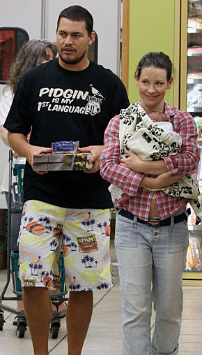 Evangeline Lilly Is A Mommy!