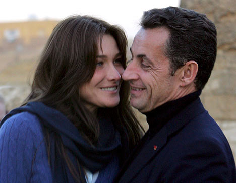 Carla Bruni Pregnant With President Sarkozy's Child?