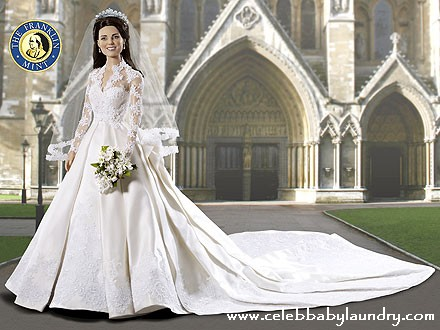 Just What Every Little Girl Needs, A Kate Middleton Wedding Doll!