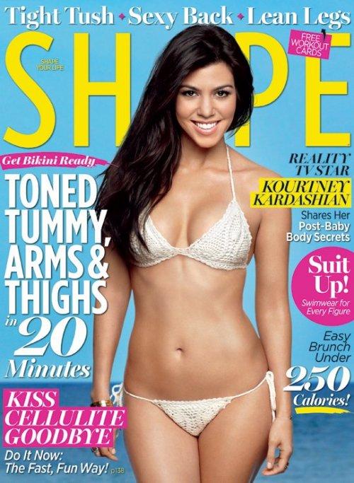 Kourtney Kardashian Back in Bikini Shape Post-Pregnancy