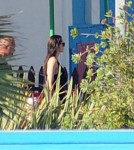Angelina Jolie and Brad Pitt with their Kids at a Marine Park in Malta