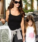 Denise Richards and her daughters Sam and Lola