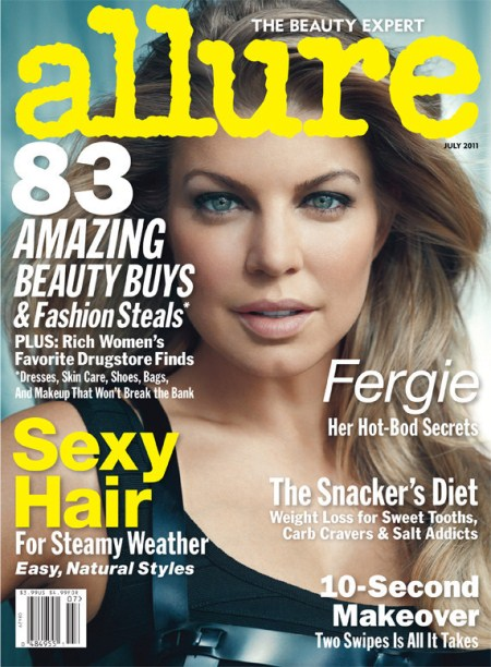 Fergie on the Cover of Allure