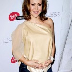Alyssa Milano Gives Birth