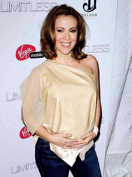 Alyssa Milano Has Started An Art Collection For Son