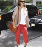 Jessica Alba in Soho, NYC
