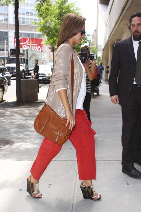 Jessica Alba in Soho, NYC