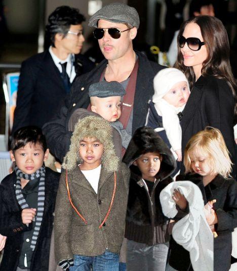 Angelina Jolie Says 'N... Angelina Jolie Kids Now