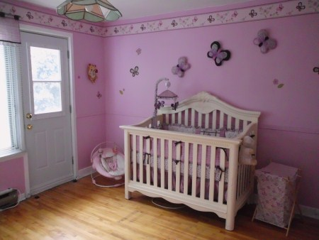 Ava's Room - Creating a Baby Nursery