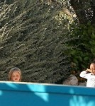 Angelina Jolie and Brad Pitt at a Waterpark in Malta
