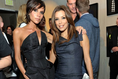 Victoria and David Beckham Ask Eva Longoria to Be Godmother