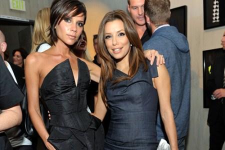 Victoria and David Beckham Ask Eva Longoria to Be Godmother