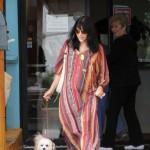 Selma Blair Voluntering at Dog Shelter