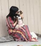 Selma Blair loves her Pooch