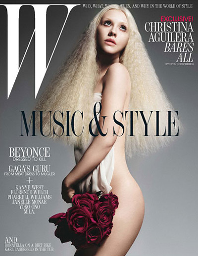 Christina Aguilera Covers W Magazine