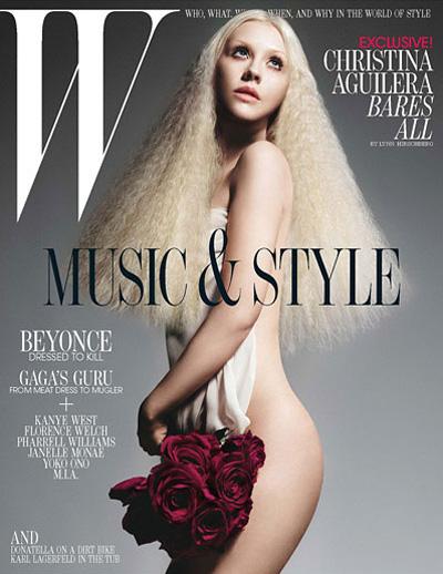 Christina Aguilera Covers W Magazine