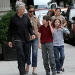 Catherine Zeta Jones and Michael Douglas With Their Kids