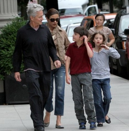 Michael Douglas Kids