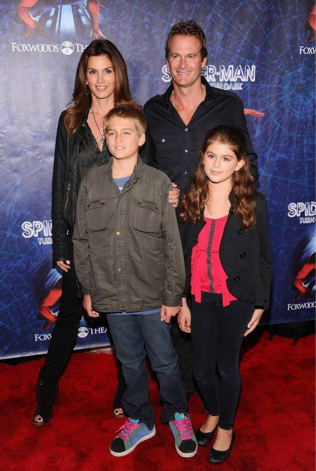 Cindy Crawford and Her Beautiful Family