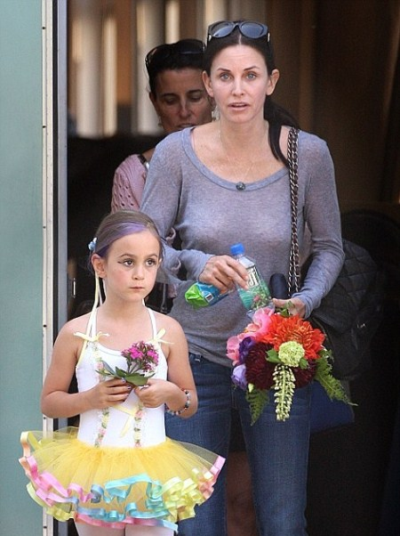 Courteney Cox and Coco