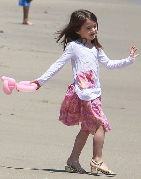 Suri Cruise Has a $150 000 Shoe Collection