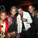 Willow and Jaden Smith at the BET Awards