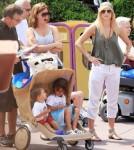 Tiger Woods' Ex Wife Elin Nordegren Takes Children to Disney World