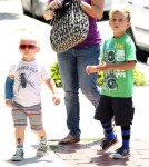 Kingston and Zuma out with their Nanny