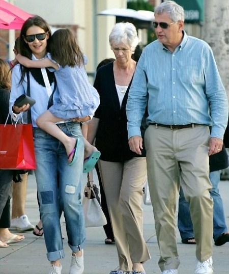 Katie Holmes' Parents Come to Visit Suri Cruise