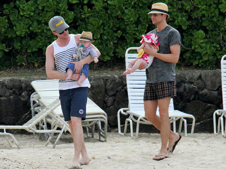 Neil Patrick Harris and His Twins