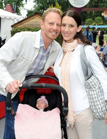 Ian Ziering Shows Off His Baby Daughter Mia