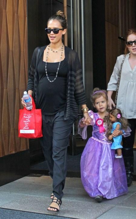 Jessica Alba Celebrates Daughter Honor's Birthday