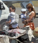 Jennifer Lopez and Marc Anthony With Their Twins Max and Emme