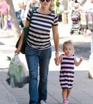 Jennifer Garner and Seraphina Matching